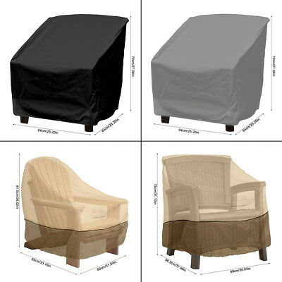 Waterproof Outdoor Garden Patio Stacking Chair Cover Furniture Dustproof Case