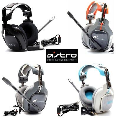 ASTRO A40 Gaming Headset for Xbox, PS3 , PS4, PC with Mic & Media Aux Cable