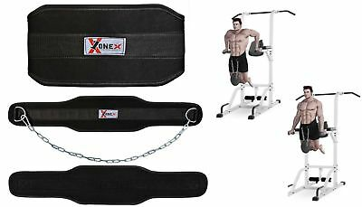 Dipping Belt Body Building Weight Lifting Dip Chain Exercise Gym Training Belt