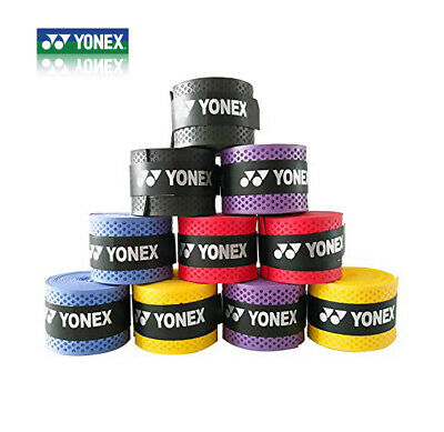 10xAbsorb Sweat Stretchy Badminton Tennis Squash Racquet Band Grip Tape Original