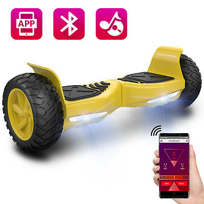 Colorway 8,5zoll SUV Hoverboard Bluetooth  App  Elektro Scooter Roller