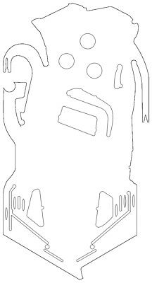 "/""P Playfield Protectors for Pinball Machines T/"""