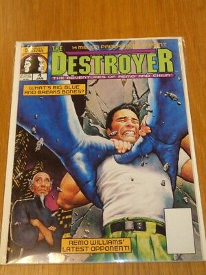 Destroyer #4 January 1990 Adventures Of Remo And Chiun Uk Us Magazine =
