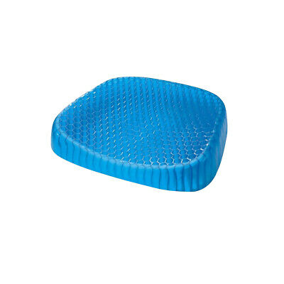 Cool Gel Honeycomb Seat Egg Cushion Flex Back Support Spine Protector Chair Car