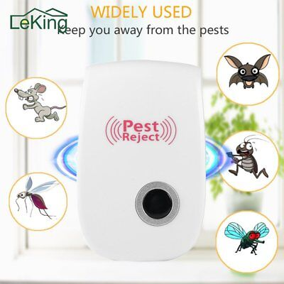 Electronic Ultrasonic Pest Reject Mosquito Mouse Rat Pest Repeller Repellent M2