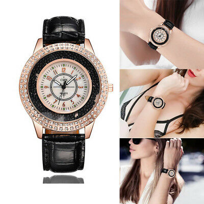 Women Lady Girl Wrist Quartz Watch Round Bead Digital Casual Fashion Birthday Gi