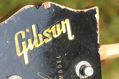 Headstock Inlay 0,2mm correct 50's Vintage style Real Mother of Pearl