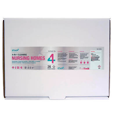 PVA Cleaning Sachets Nursing Homes Mixed Pack C2