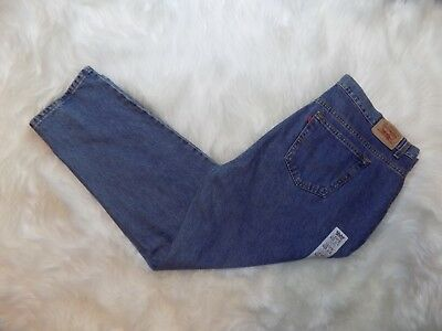 LEVIS Vintage 90s Mom Jeans 550 Relaxed Fit Tapered Leg Womens 22W Short 44 x 30