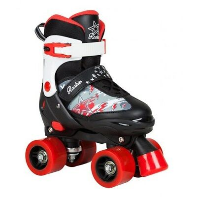 Rookie Ace Junior Children's Quad Adjustable Roller Skates. Kids Rollerskates