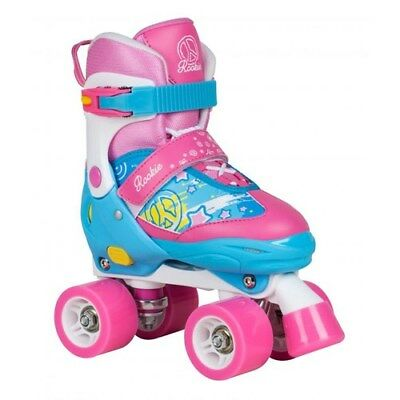 Rookie Fab Junior Children's Quad Adjustable Roller Skates. Kids Rollerskates