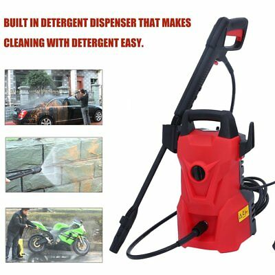 3000 PSI Electric Washer 2000W 1.6 GPM High Pressure Washer Jet Sprayer US SS