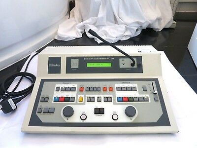 Starkey Ac30 Clinical Audiometer Hearing Tone Audiology Test Screening Tester Uk