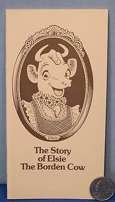 Elsie The Cow ~ 20 Page Booklet The Story of Elsie ~ The Borden Cow ~ Old