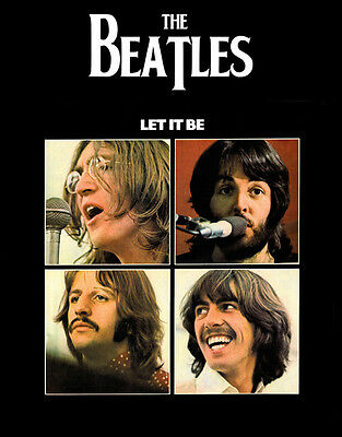 """The Beatles Let it Be Photo Print 8 x 10"""""""