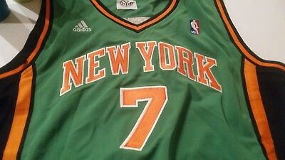 premium selection 9dcb6 840db discount code for carmelo anthony st patricks day jersey ...