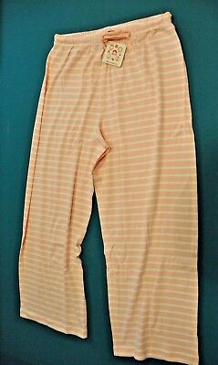 HANNA ANDERSSON Women's Lounge Pants/ Pajamas Draw string Large 100% cotton NWT