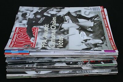 When Saturday Comes Football Soccer Magazine x 29 Issues 1989 -1994
