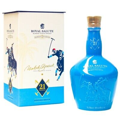 Chivas Royal Salute 21 YO Polo Edition + GB 700ml 40% Vol.