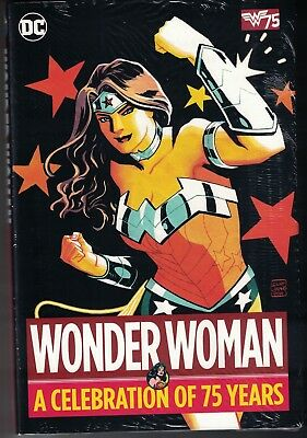 WONDER WOMAN A CELEBRATION OF 75 YEARS HC Hardcover $39.99srp George Perez NEW