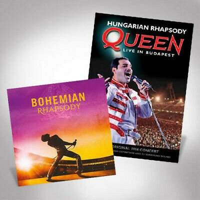 Queen + Adam Lambert - Bohemian Rhapsody Live In Budapest Bundle [New CD]