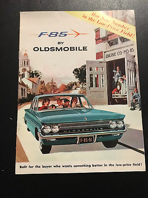 1960's  F85 Oldsmobile Brochure  NOS In Very Good Condition