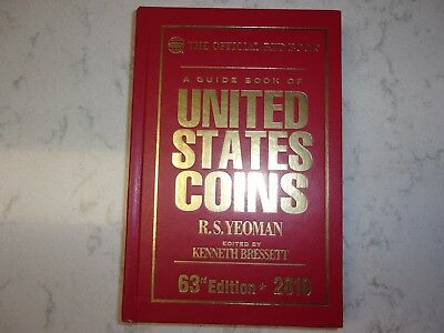 2010 Guide Book of United States Coins~Official Red Book, Hardcover~NEW~Editn 63