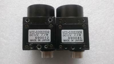 1PCS CIS VCC-G20S20DR CCD industrial camera  tested
