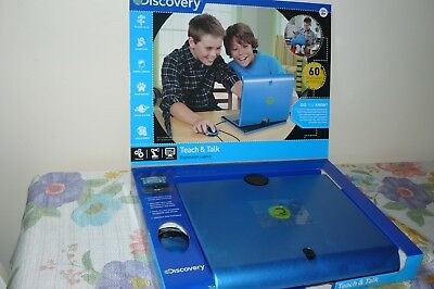 Discovery Boys Laptop Computer Learning Toy Educational Game Teach/Talk