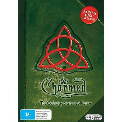 CHARMED 1-8 (1998-2006) COMPLETE Power of 3 Witches TV Seasons Series Au Rg4 DVD