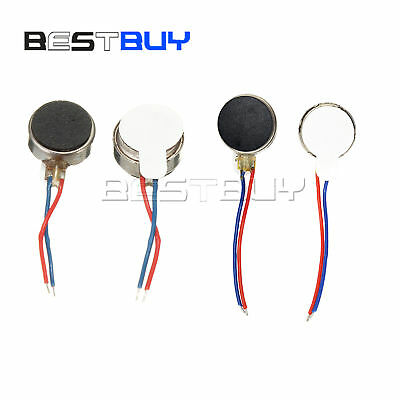 Coin Flat Vibrating Micro Motor DC 3V 8mm/10mm For Pager Cell Phone Mobile