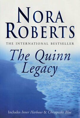 The Quinn Legacy by Nora Roberts Paperback Book The Cheap Fast Free Post