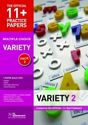 11+ Practice Papers Multiple-choice Variety Pack 2... by GL Assessment Paperback