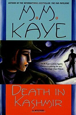 Death in Kashmir: A Mystery by Mary Margaret Kaye Book The Cheap Fast Free Post