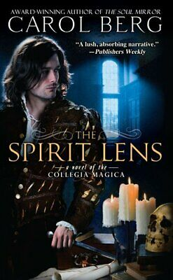 The Spirit Lens (Collegia Magica) by Berg, Carol Book The Cheap Fast Free Post