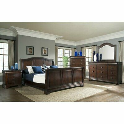 Picket House Furnishings Conley 4 Piece King Sleigh Bedroom Set