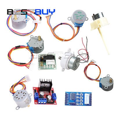 DC 5-12V Stepper Motor 28BYJ-48+2003/L298 Driver Test Module fit for Arduino