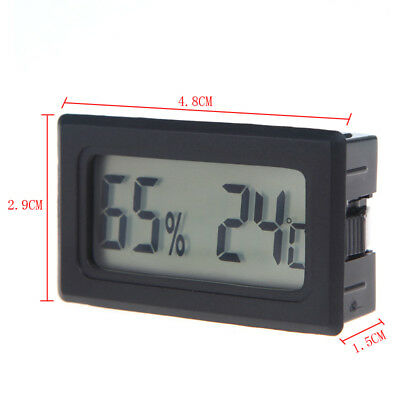 Mini Digital LCD Thermometer Hygrometer Humidity Temperature Meter Home Use C8W9