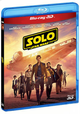 Solo: A Star Wars Story Blu-Ray 3D/2D (1 disc set) Region All