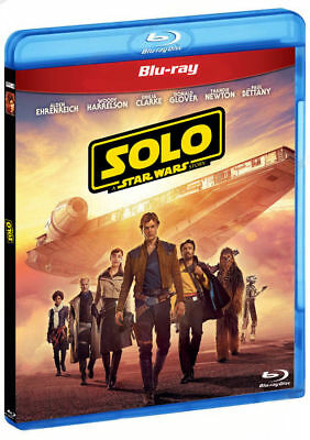 Solo: A Star Wars Story Blu-Ray (2 disc set) New/ Region All + Bonus