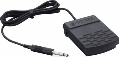 """Yamaha FC5 FC-5 Sustain Damper Flat Pedal Foot Switch With 1/4"""" Jack"""