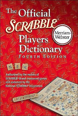 The Official Scrabble Players Dictionary by Merriam