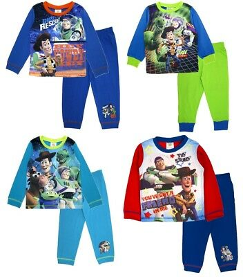 Boys Kids Toy Story Woody Novelty Pyjamas Nightwear Cotton 18 months to 6 Years