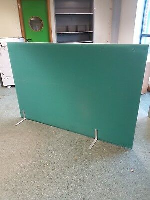 Green  fabric office room dividers / Green fabric office room partitions