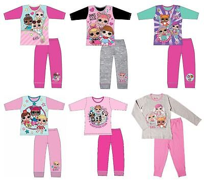 Girls LOL Surprise Pjs Pyjamas Pajamas Nightwear Set Character Gift