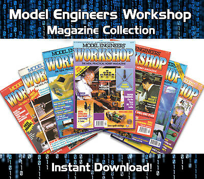 Model Engineers Workshop Magazine Pdf Download - Issues 001 To 163
