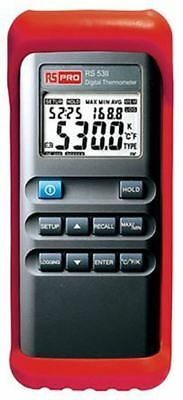 RS PRO Digital Thermometer, 1 Input Handheld, J, K Type Input With SYS Calibrati