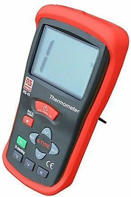 RS PRO RS41 Digital Thermometer, 1 Input Handheld, K Type Input With SYS Calibra