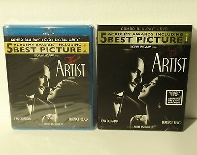 The Artist (Blu-ray/DVD, 2012, Canadian) NEW & FACTORY SEALED