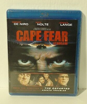 Cape Fear (Blu-ray Disc, 2011, Canadian) Martin Scorsese NEW AUTHENTIC REGION A